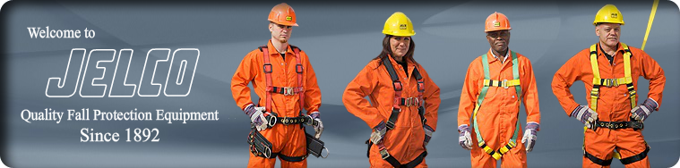 Welcome to Jelco, manufacturer of quality fall protection equipment since 1892